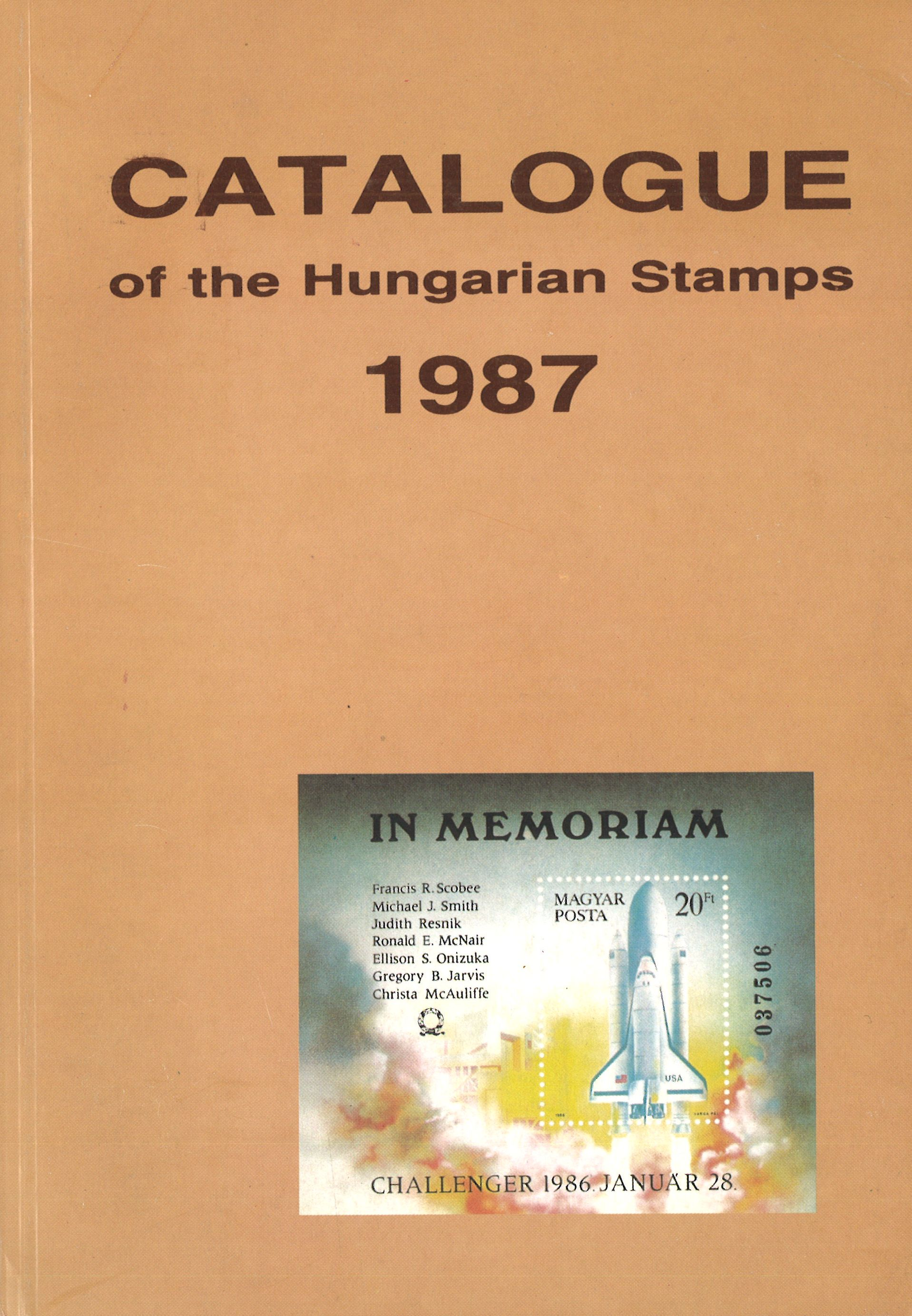 Philatelia Hungarica Ungarn Catalogue Of The Hungarian Stamps 1987 Online Shop