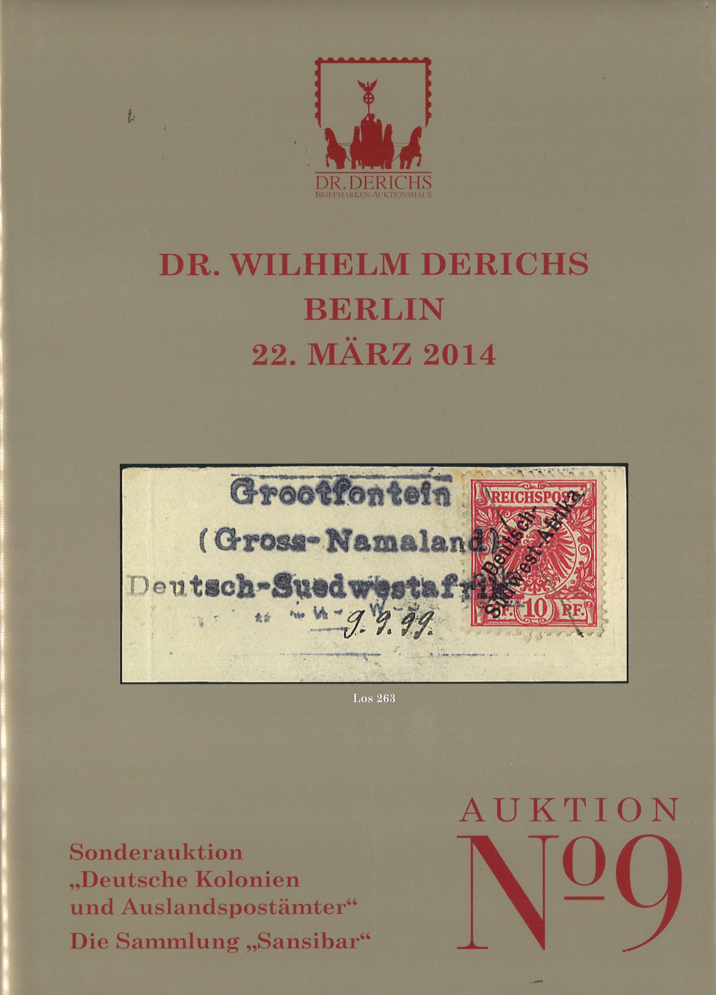 Auktionskatalog Sonderauktion November 2014